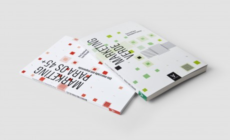 Real life data book covers about marketing