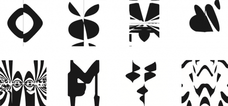 Examples of evolved images that are computationally ambiguous.